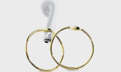earpod hoops from Earpod Jewelry Project