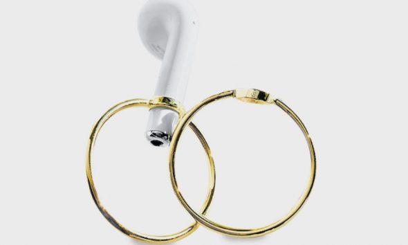 earpod hoops from Earpod Jewelry Project