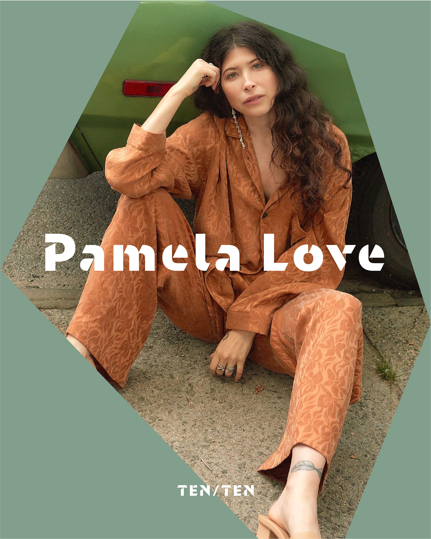 Pamela Love TenTen Social Graphic Portraits