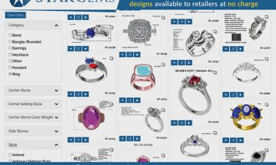 Star Gems Releases Retailer Access to Over 10,000 CAD Designs with Advanced Filtering Options
