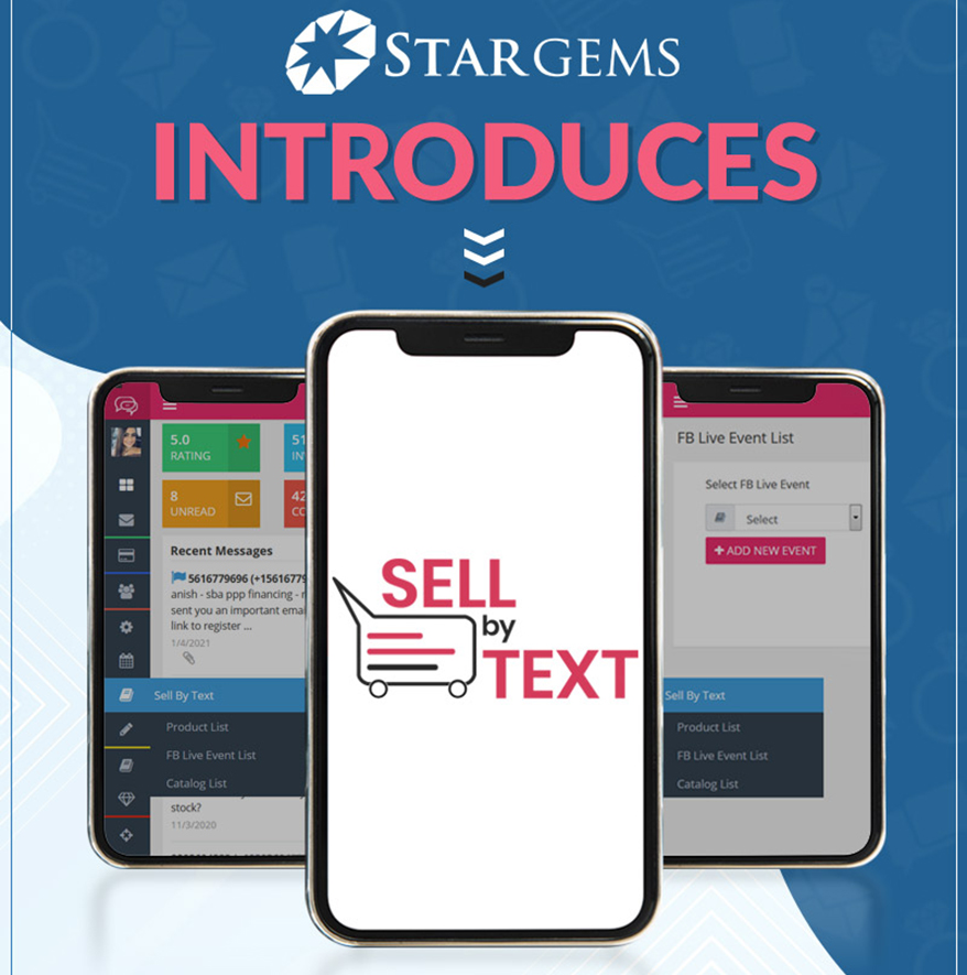 Star Gems Unveils Sell By Text