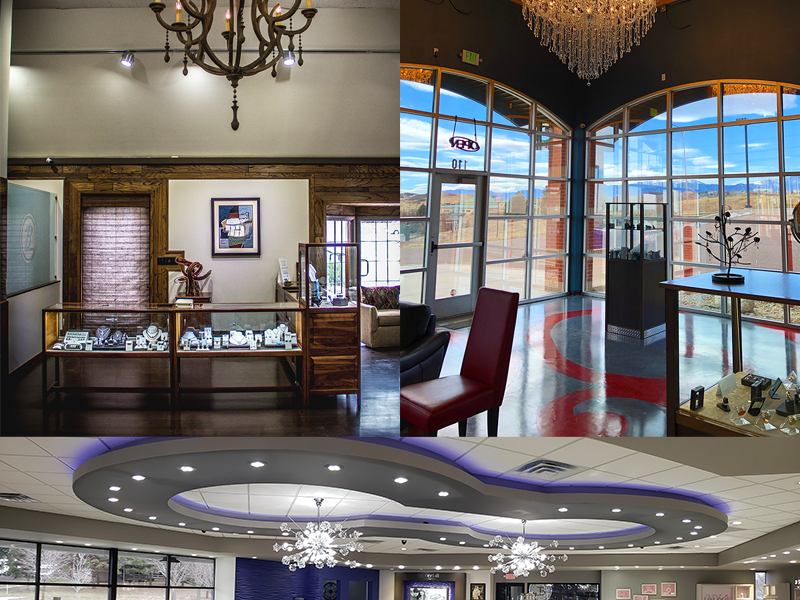 jewelry stores chandeliers