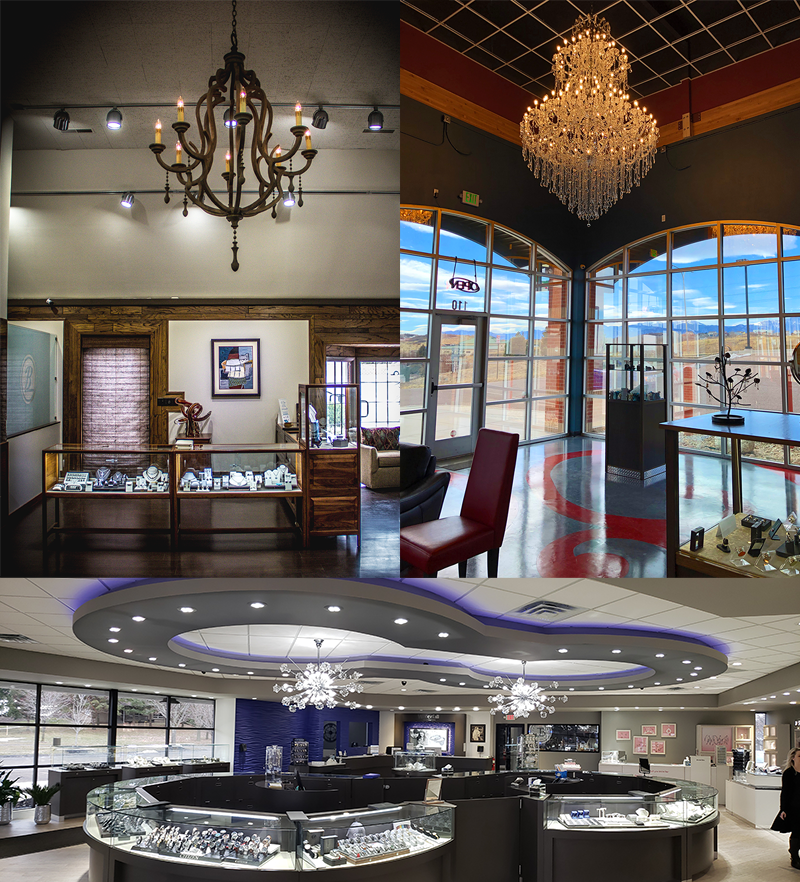 Jewelers Shine a Light on Distinctive Fixtures in Stores