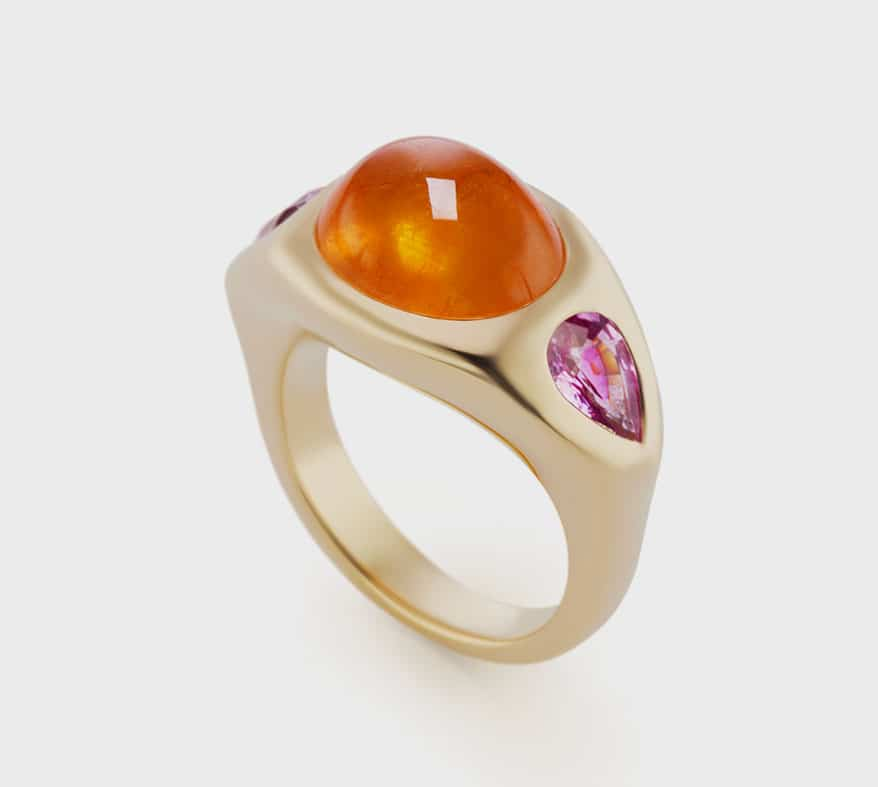Brent Neale  18K yellow gold ring