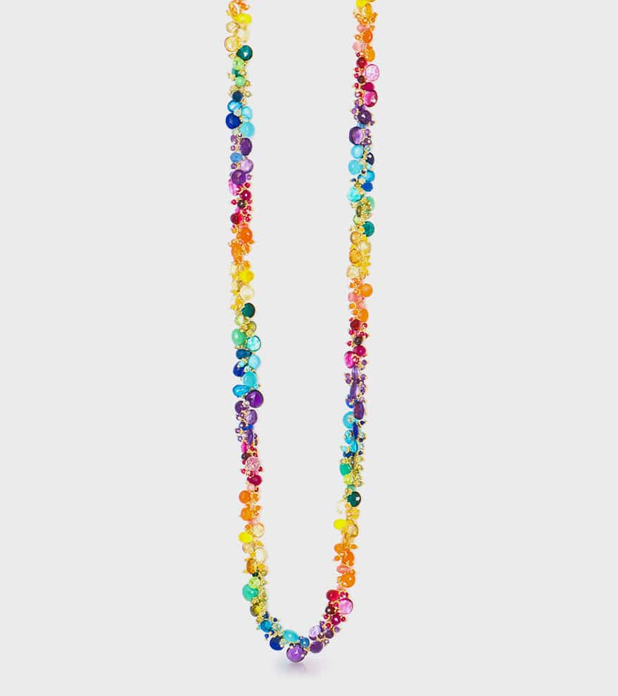 Tashka by Beatrice Gold-plated necklace
