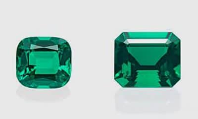 Afghan-Colombian emeralds