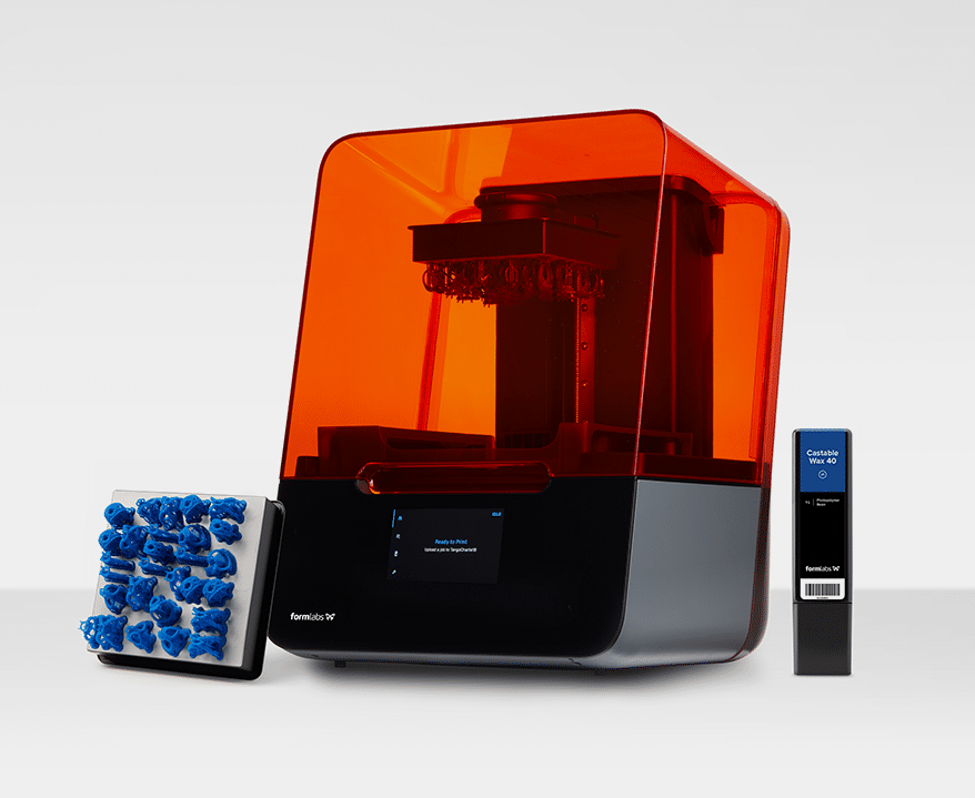 Castable Wax 40 Resin from FORMLABS