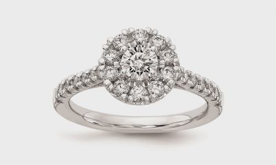 Semi-mount engagement ring from Quality Gold