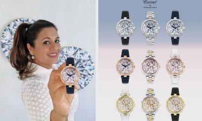 Reena Ahluwalia Launches Watch Collection with Her Diamond Paintings on the Dial