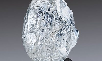 242.31-carat, gem-quality crystal