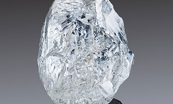 242.31-carat, gem-quality crystal