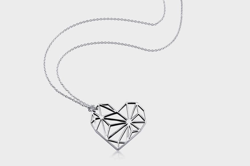 Zina  Sterling Silver pendant necklace.
