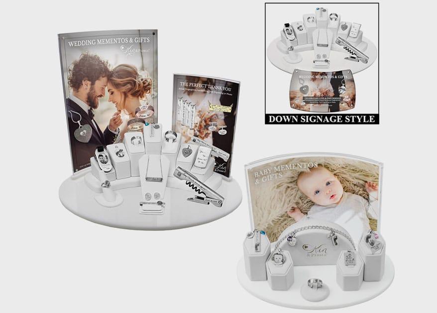 wedding baby displays