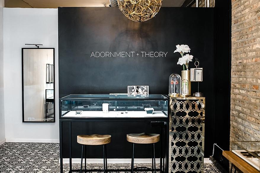 Adornment + Theory counter