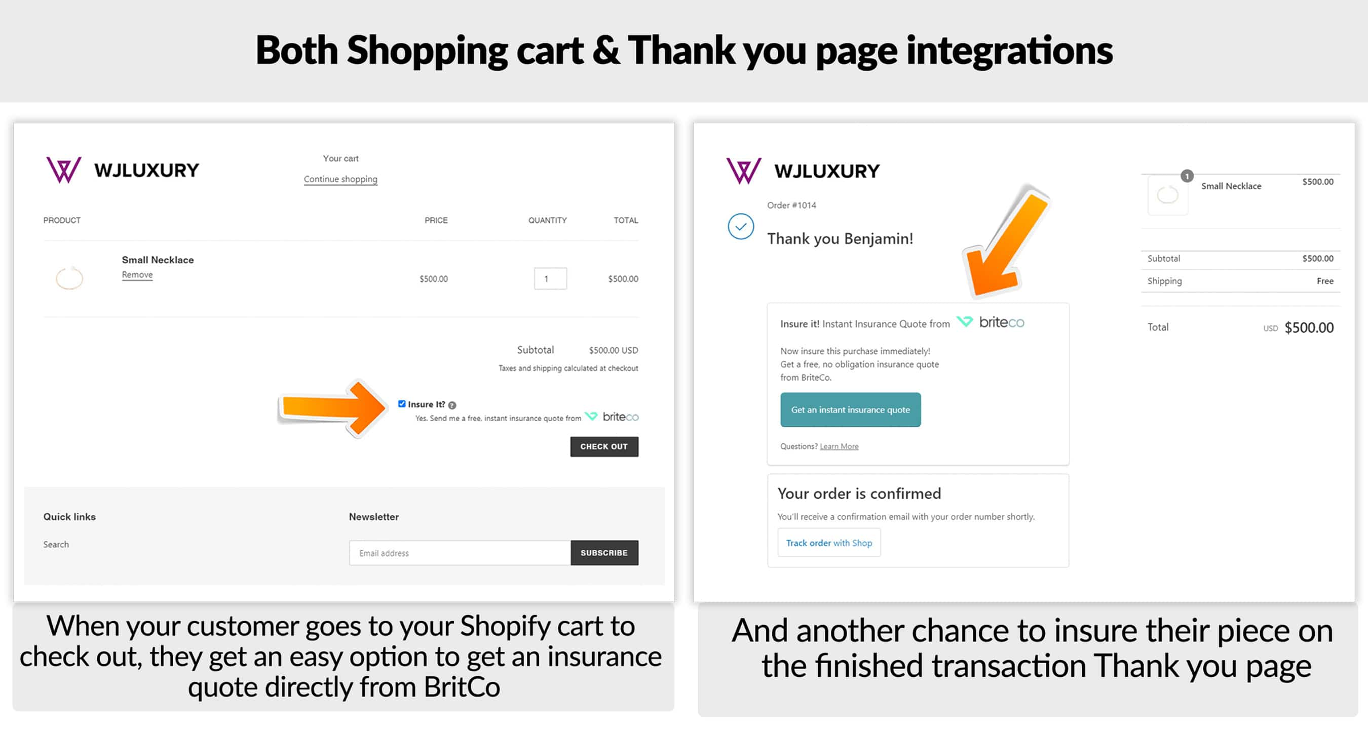 BriteCo and GemFind Introduce Insurance Quote Shopify App for eCommerce