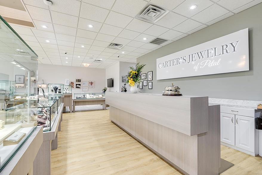 Carter's Jewelry counter
