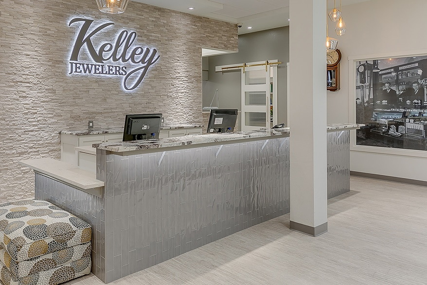 Kelley Jewelers counter