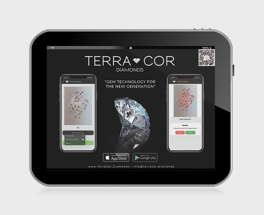 TERRA COR's new app