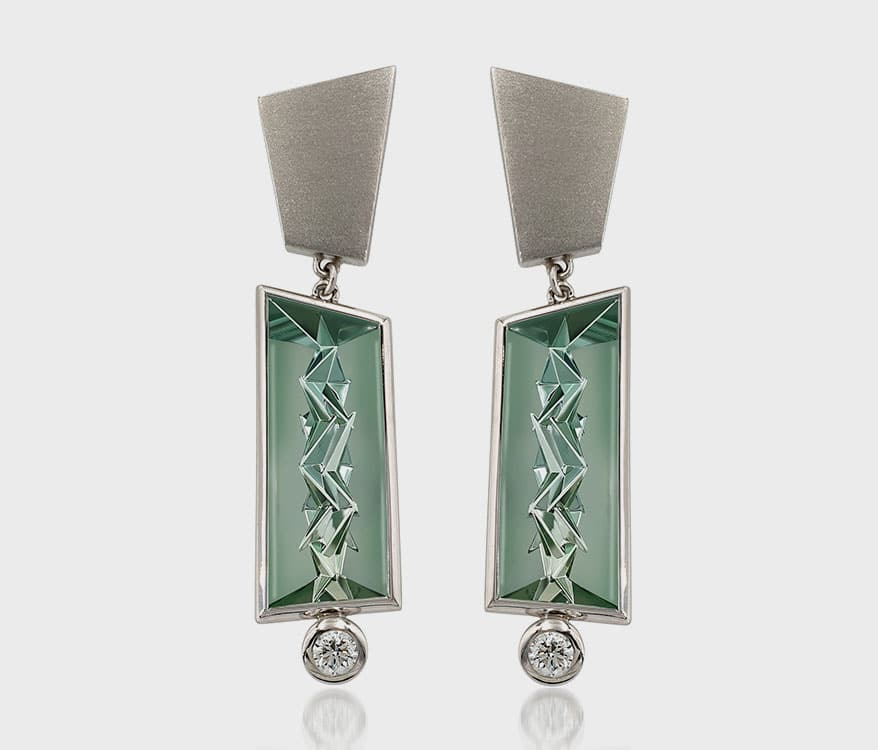 Atelier Munsteiner Platinum earrings