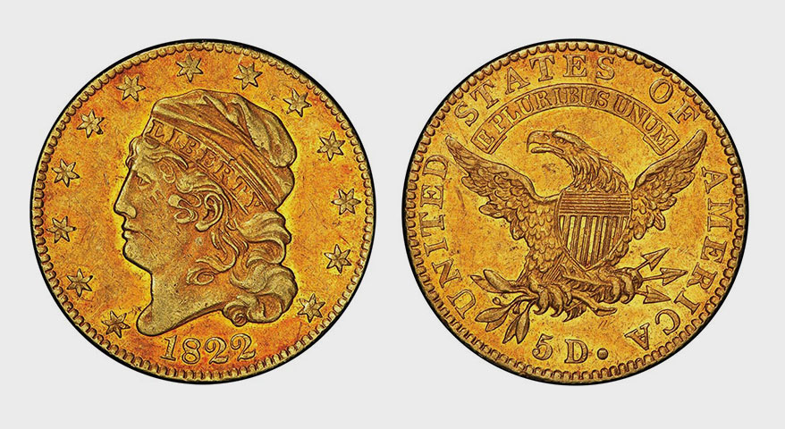 Half Eagle Gold Coin