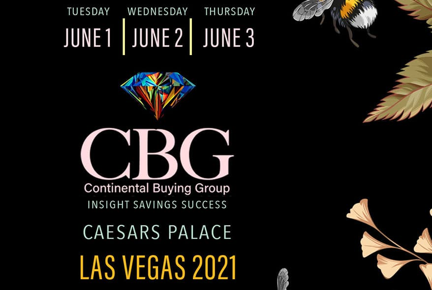 Continental Buying Group Announces 2021 Live Event in Las Vegas