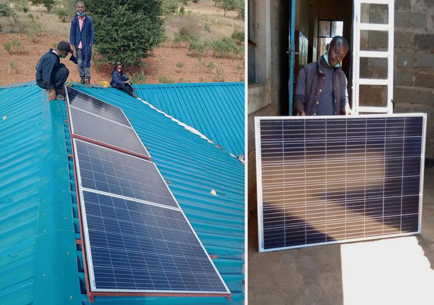 Gem Legacy Installs Solar Panel for Children's Home