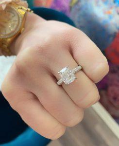 Cheyenne's engagement ring
