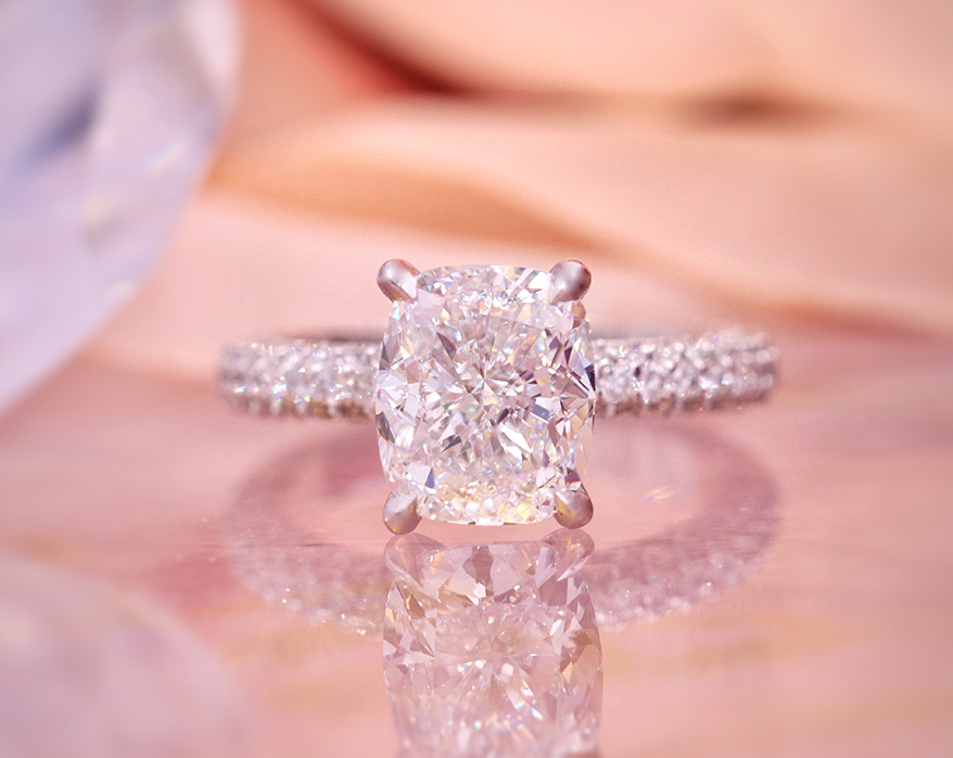 Testwuide designed this engagement ring for reality-show star Cheyenne Floyd.
