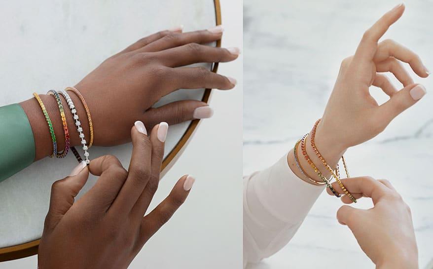 Roberto Demeglio Unveils Stretchable Diamond Bracelet Company