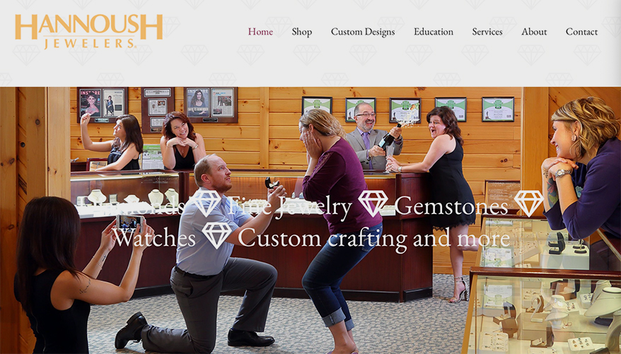 Hannoush-Jewelers wedding proposal