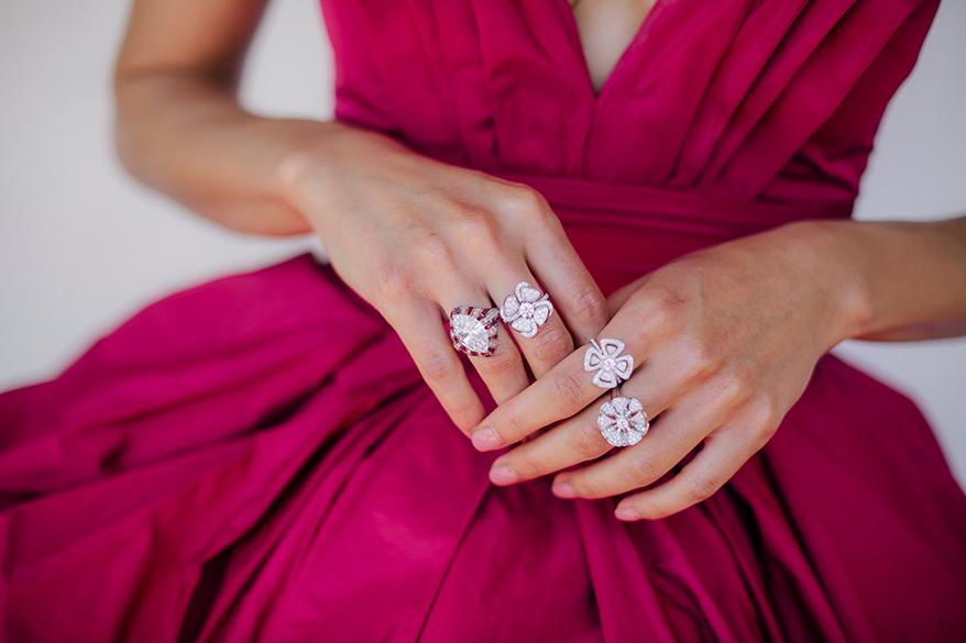 Jurnee Smollett wearing Bulgari High Jewelry at the 2021 SAG Awards. Photo by Mari Jose Govea.