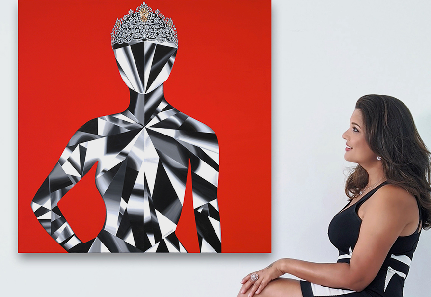 Reena Ahluwalia Paints Mouawad Miss Universe Power of Unity Crown