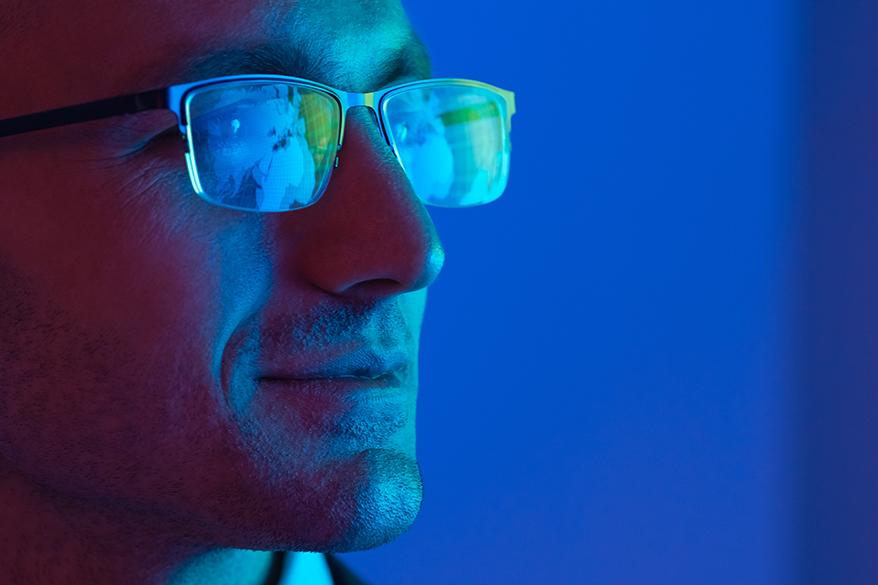 man-wearing-eyeglasses-looking-smart
