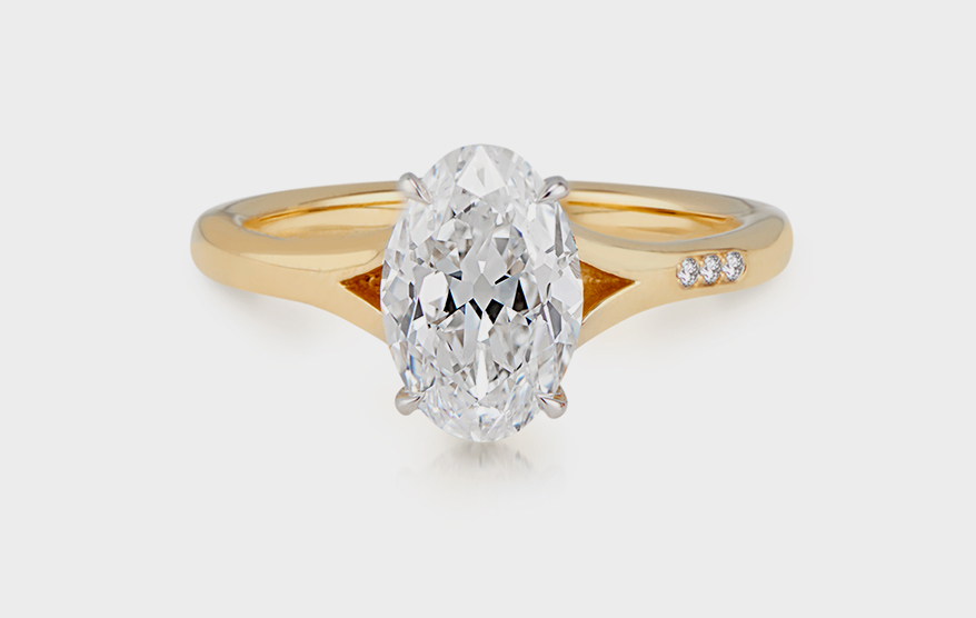 Kendra Pariseault 18K yellow gold ring