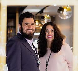 Zalman and Simcha Minkowitz own Amor Fine Jewelry.