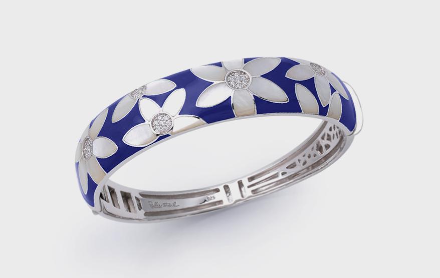 Belle-Étoile Sterling silver bangle bracelet