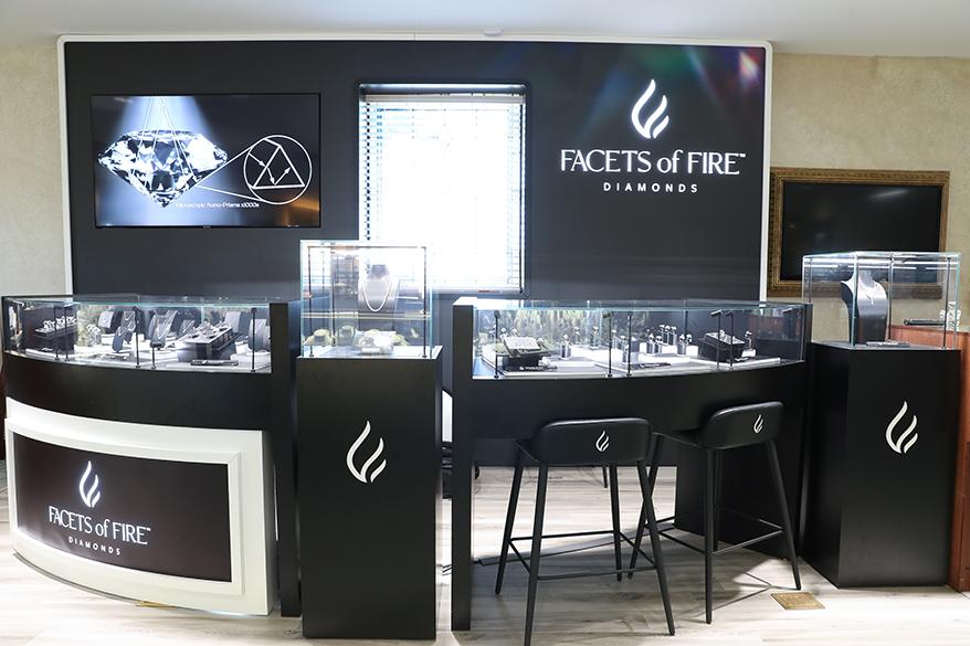 Facets of Fire Diamonds Debuts Shop In Shop In Sissy's Log Cabin