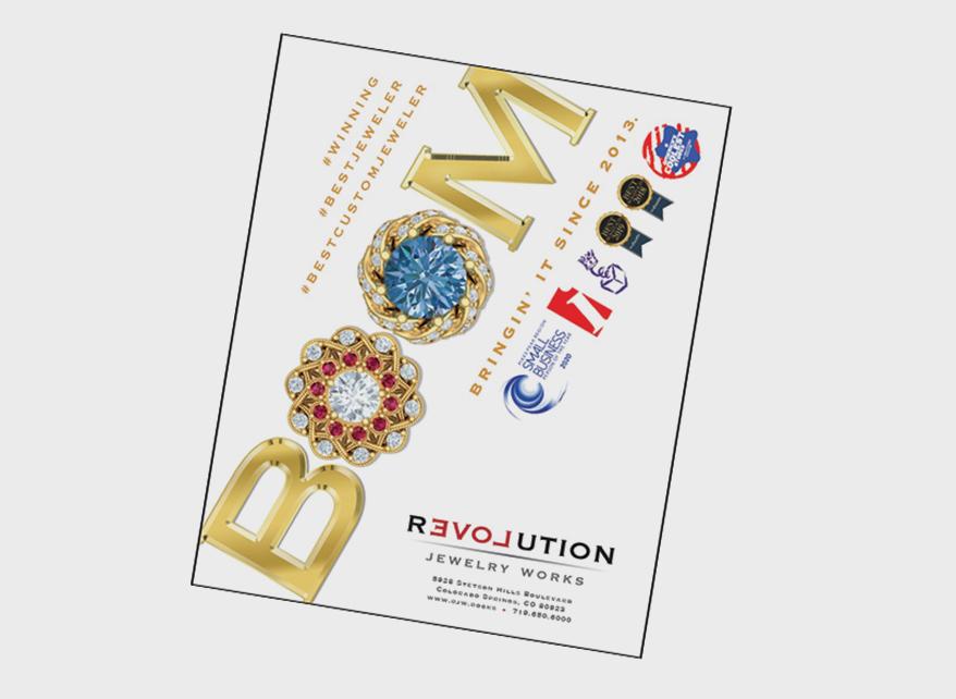 REVOLUTION JEWELRY WORKS marketing