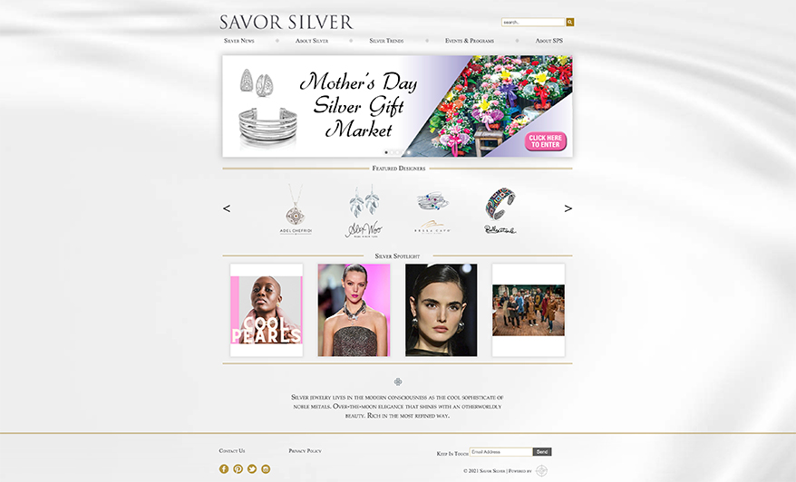 Silver Promotion Service Launches Revamped Website