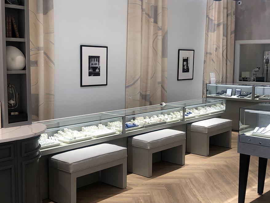 Falls Jewelers showcase