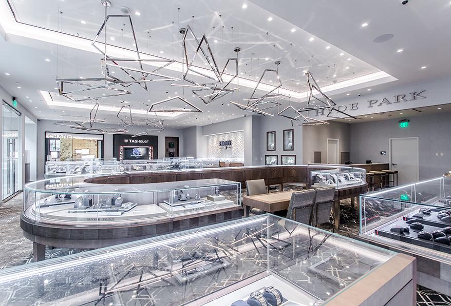 Hyde Park Jewelers showcase