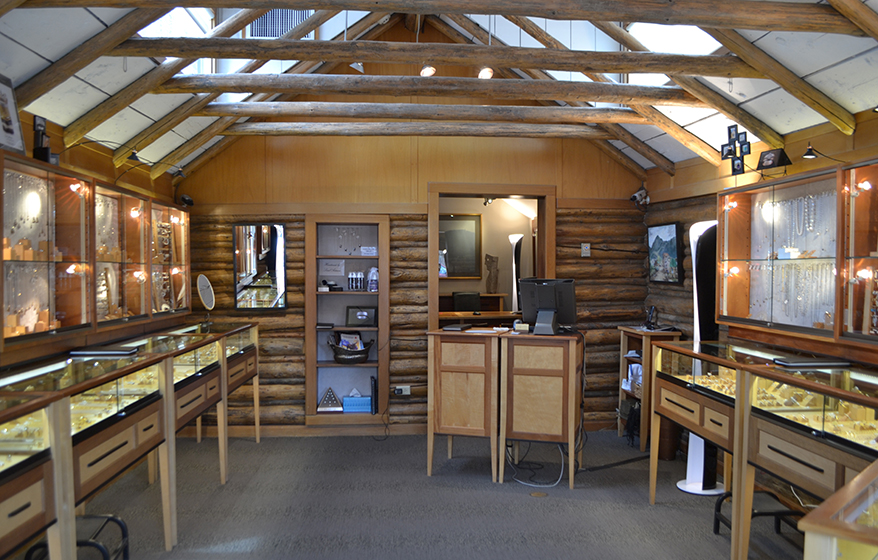 JC Jewelers showcase