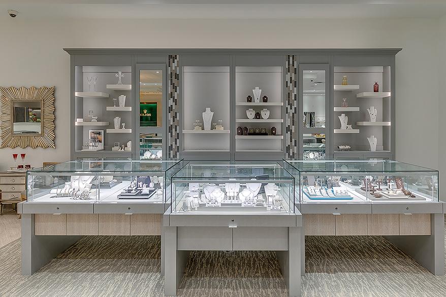 Kelley Jewelers showcase