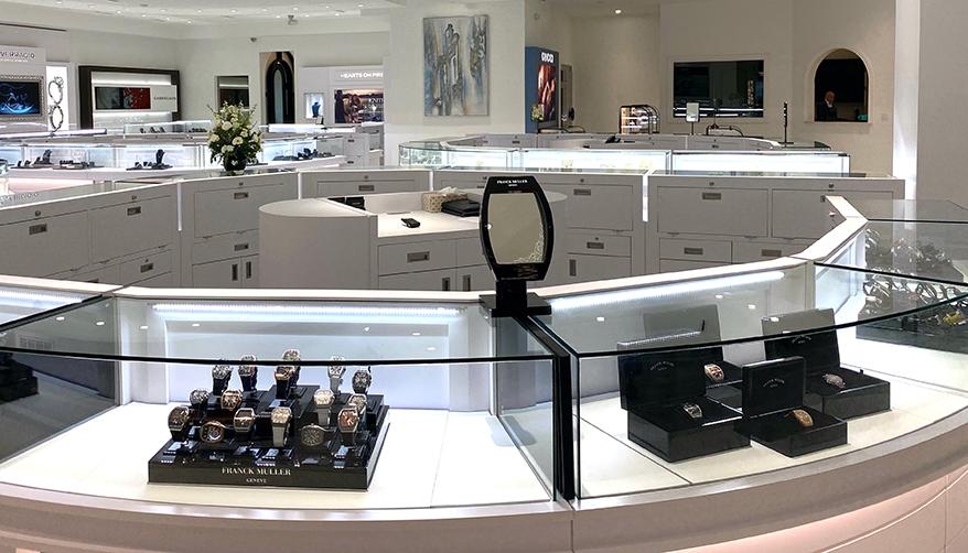 M Robinson Fine Jewelry showcase