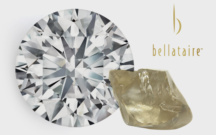 Available Exclusively From Malakan: Bellataire Diamonds