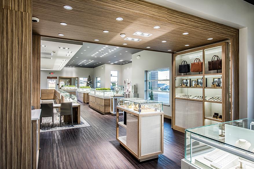 Mitchum Jewelers showcase