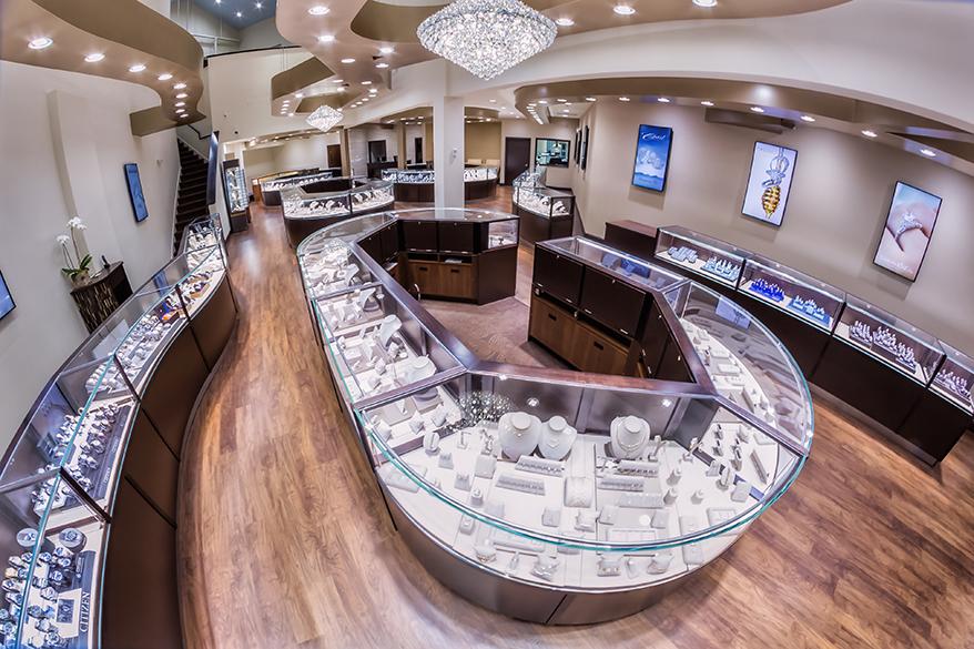 Park Place Jewelers showcase