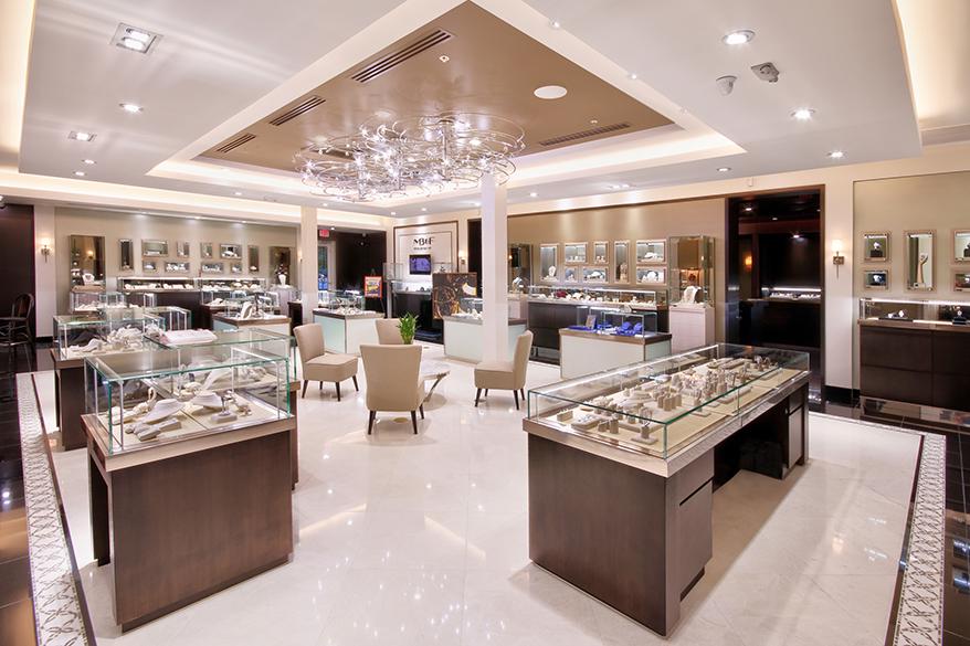 Provident Jewelry showcase