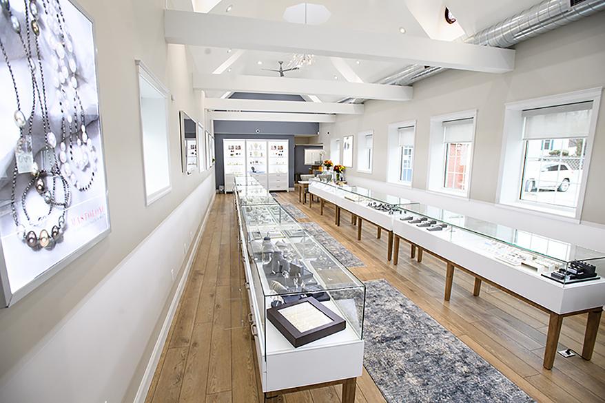 S. Lennon & Company Jewelers showcase