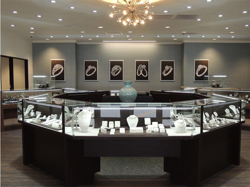 Storey Jewelers showcase
